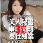 中井綾香【美人秘書3穴串刺奉仕残業】